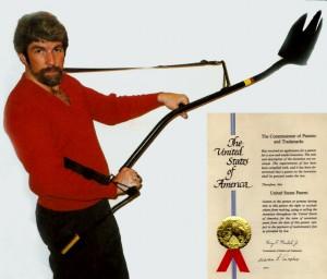 Aardvark Shovel, an invention by Henry Harvey