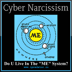 Cyber Narcissism-Cyberstealth-Fraud-Identity Theft-Cybercrime-iPredator