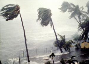 Hurricane Hugo Slams Into Puerto Rico