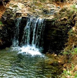 Blue Bayou Falls