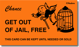 Get Out of Jail Free 1Sided
