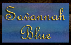 Savannah Blue Sign copy