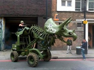 tractor dinosaur