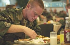 aaaaa military eating