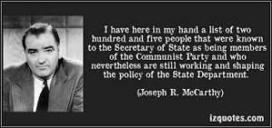 aaa  McCarthy